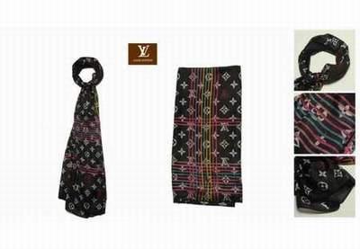 024179bdfbf Echarpe Louis Vuitton Femme Noir